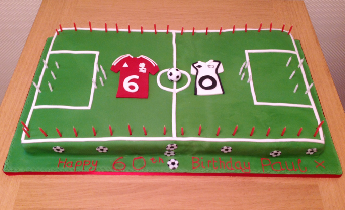 Football Birthday Cake - Cakes in Loughborough