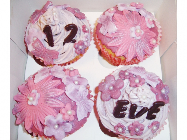 custom-made cupcakes in Loughborough